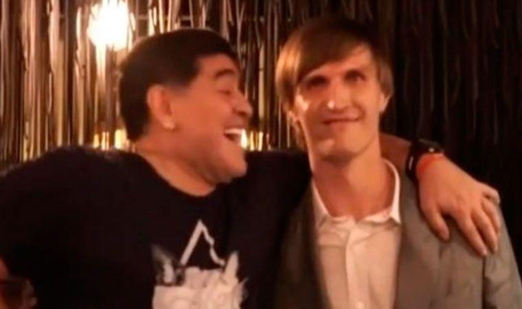 Maradona y Ronaldo, espectadores de lujo en la final de Rusia