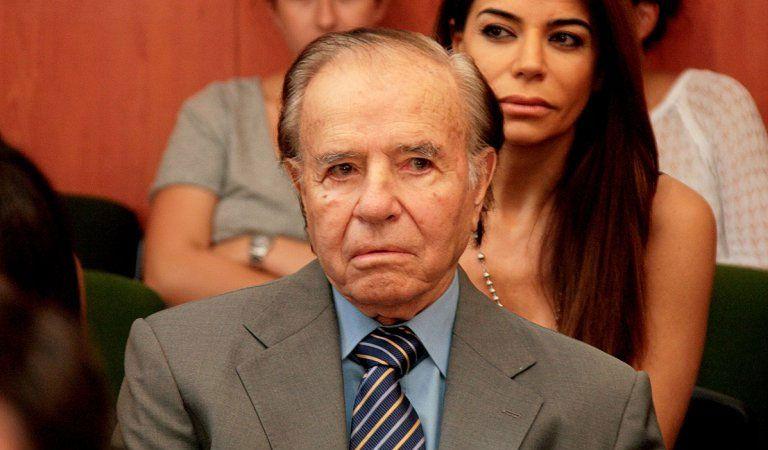 Analizan una objeción a la candidatura de Menem
