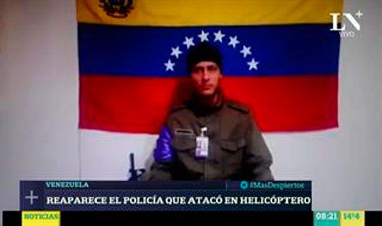 VIDEOS | Reaparece militar que lideró ataque a Tribunal Supremo de Venezuela