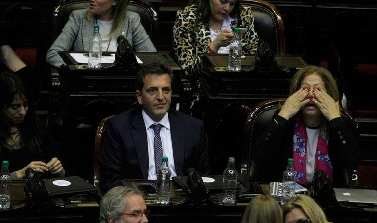 Massa y Stolbizer renunciaron a sus fueros parlamentarios