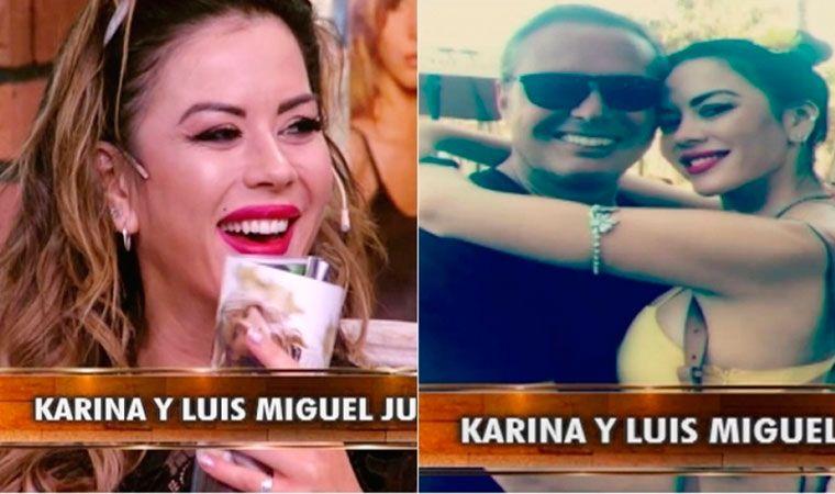Karina Jelinek blanqueó sus encuentros íntimos con Luis Miguel en Miami