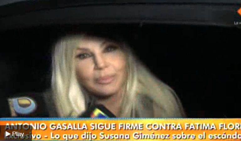 Susana le pidió a Gasalla que no se fuera porque lo ama