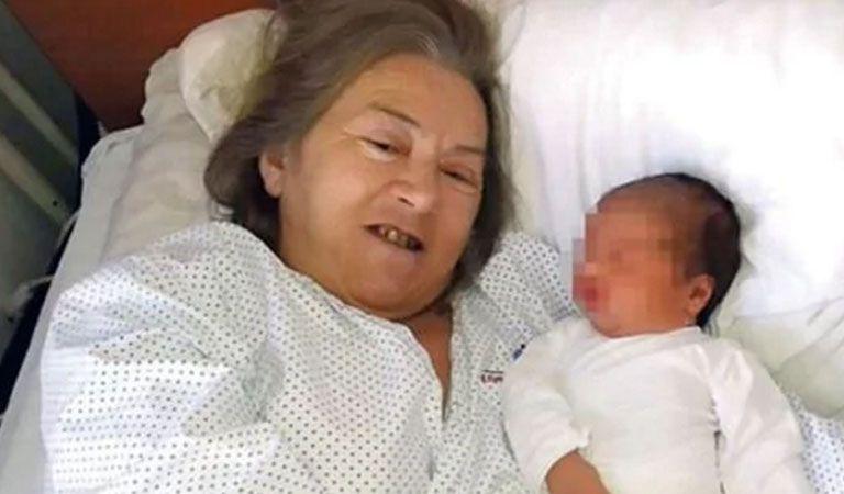 Fue mamá primeriza a los 60 años y el marido la dejó