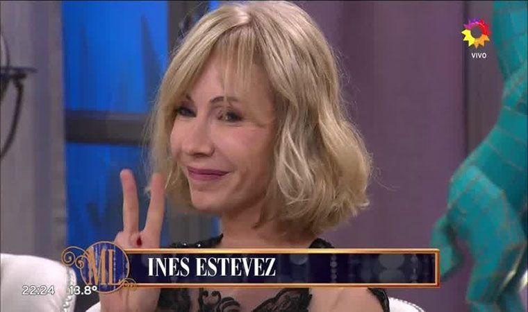 Fuerte cruce entre Mirtha Legrand e Inés Estévez
