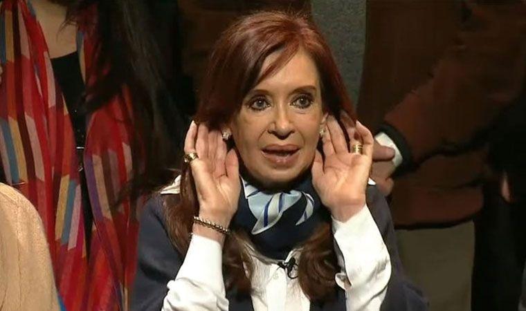 CFK aseguró que