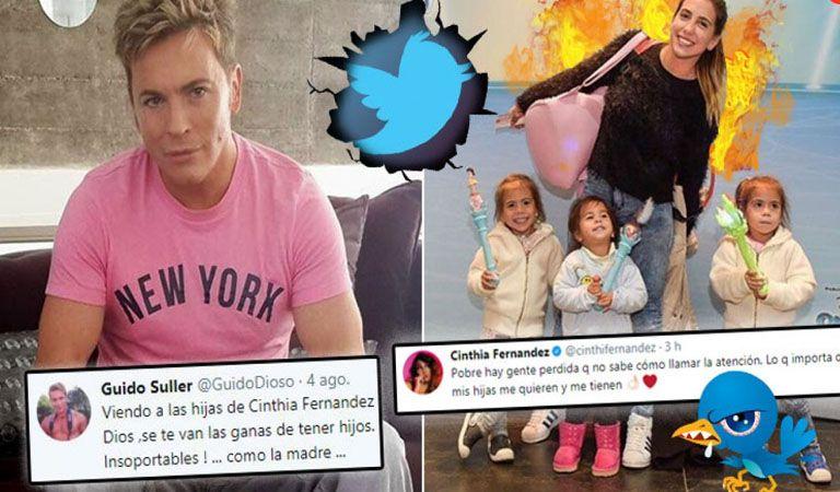 Qué dijo Guido Süller sobre las hijas de Cinthia Fernández