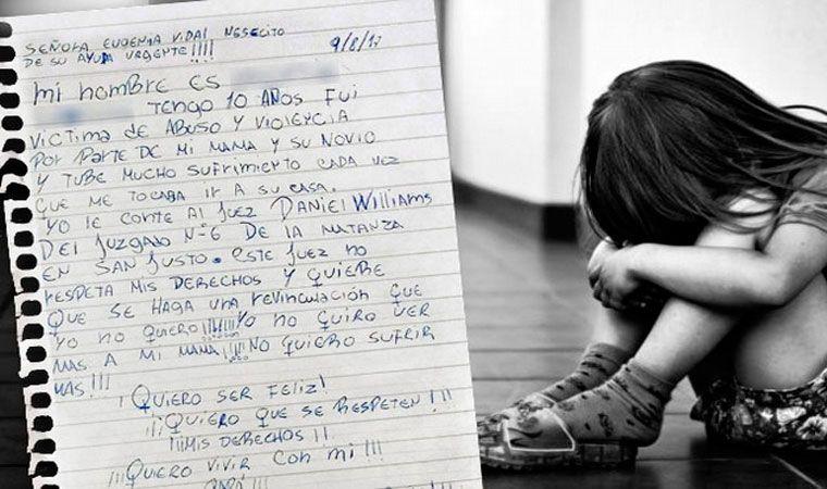 Dramático pedido de nena de 10 años
