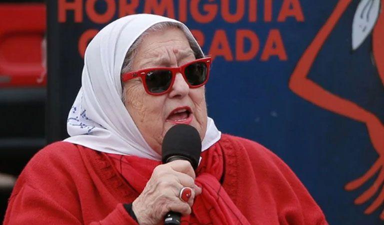Bonafini denunció que quieren desalojar a las Madres de Plaza de Mayo
