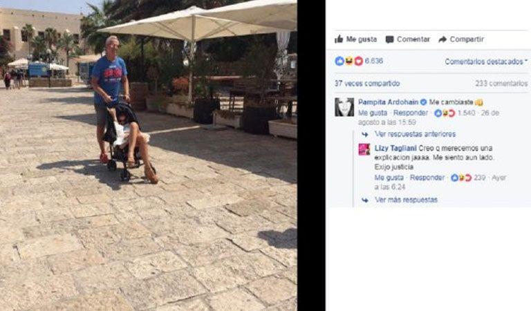 La foto maternal de la China Suárez en Israel