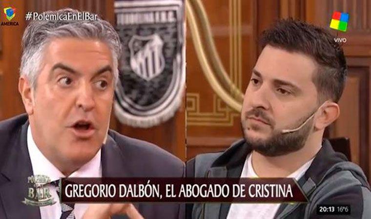 El tenso momento entre Diego Brancatelli y el abogado de Cristina Kirchner