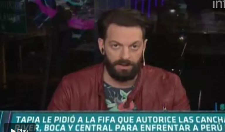 El durísimo cruce en vivo entre Mario Massaccesi y el Rifle Varela