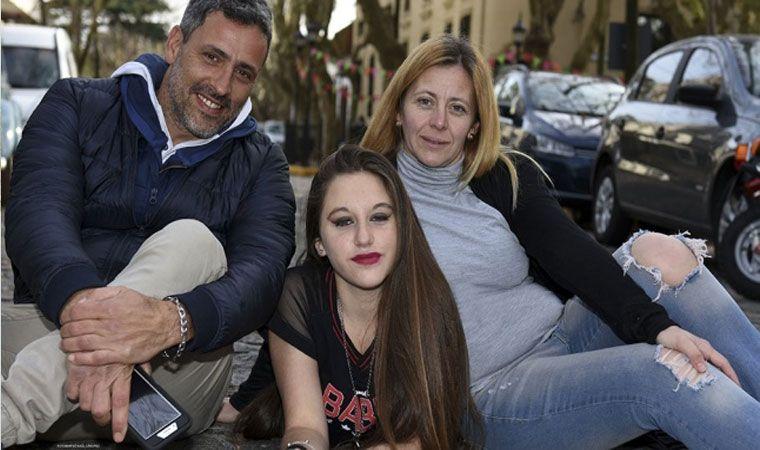 La transplantaron y festejó sus 15 años junto al padre de quien donó su corazón