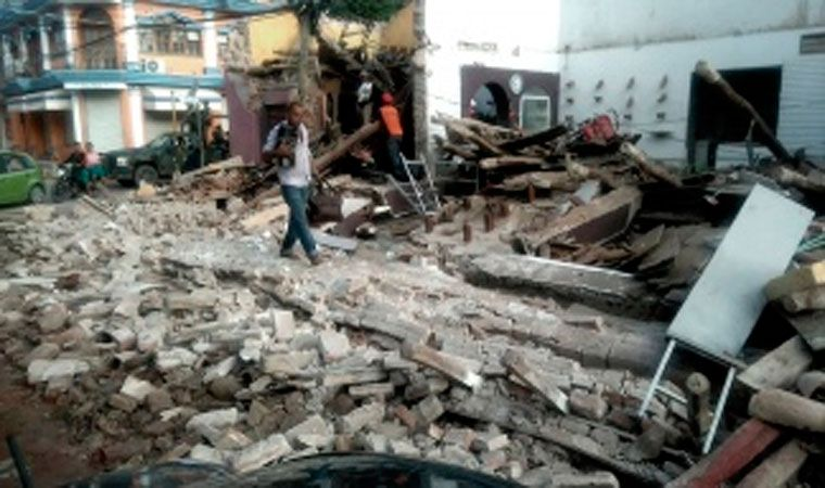 Se registraron 459 réplicas después del terremoto de México