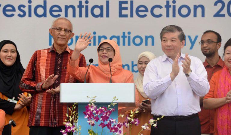 Furia en Singapur tras elección de primera presidenta sin votación