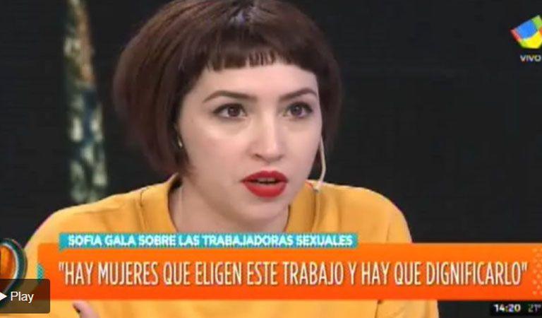 Nazarena Velez bancó a Sofía Gala
