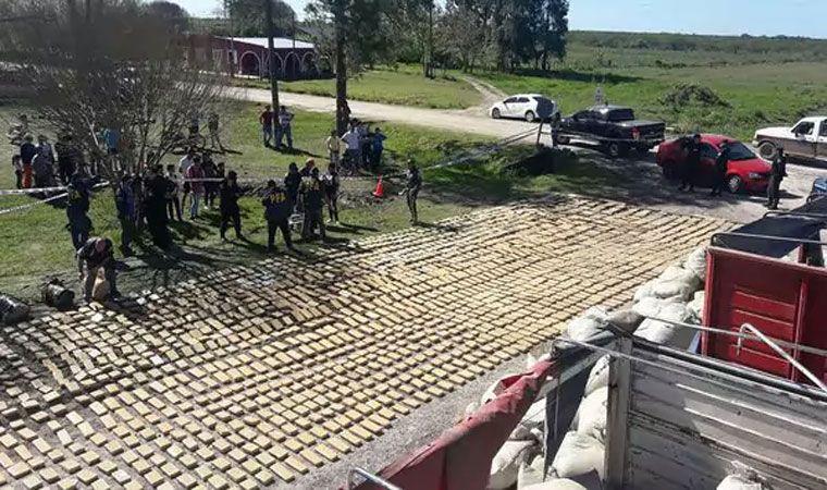 Secuestraron 10 toneladas de marihuana en un camión — Entre Ríos