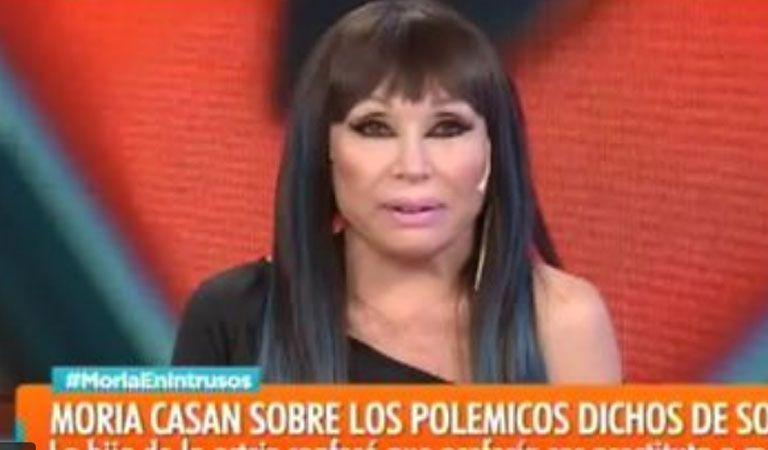 Moria Casán sin filtro: