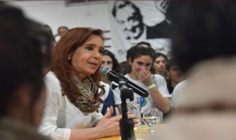 Cristina no será parte del debate de candidatos en TN