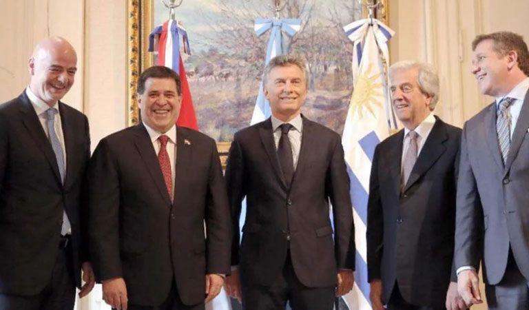 El presidente de la FIFA vistará la AFA y al presidente Macri