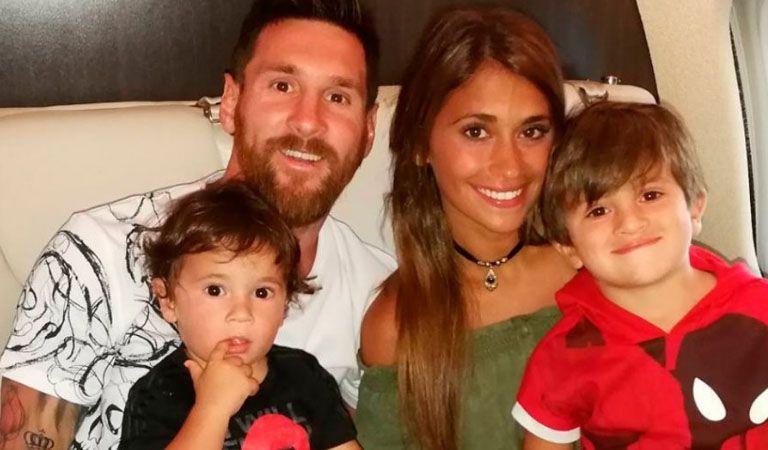 Antonela Roccuzzo reveló el sexo de su tercer hijo con Messi