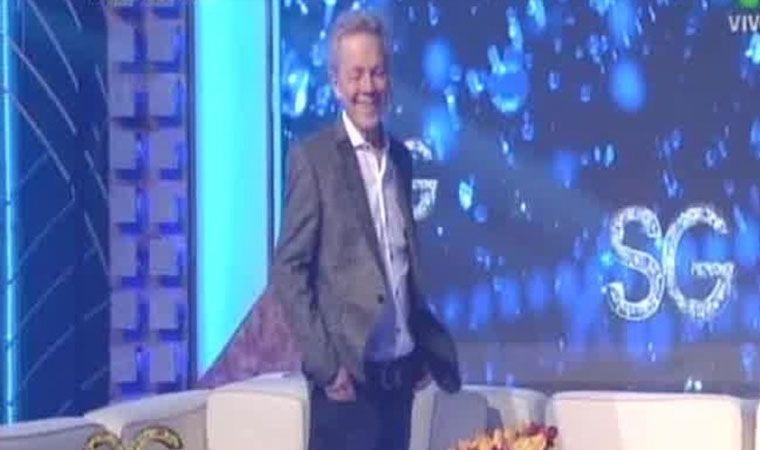 Susana Giménez entrevistó a Emilio Disi y otra vez metió la pata