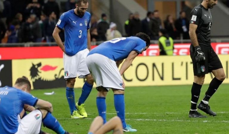 "Suecia le dijo ""Arrivederci"" a Italia en Milán"