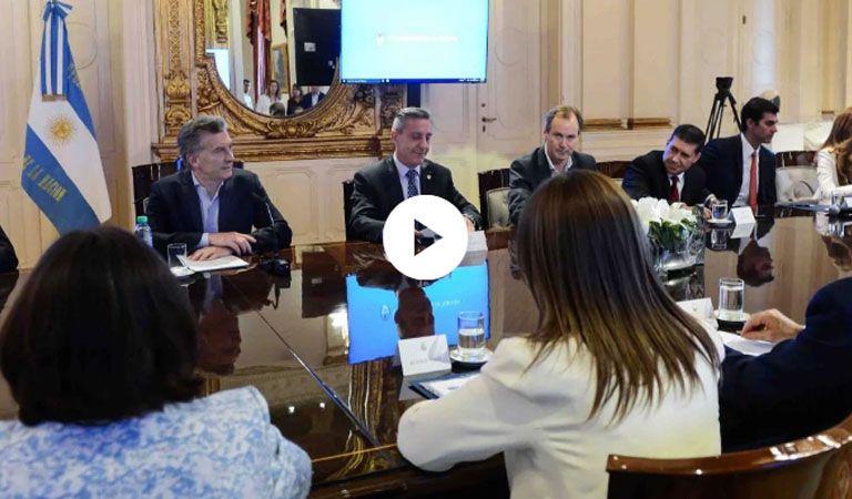 Se firmó el acuerdo fiscal entre la Nación y las provincias