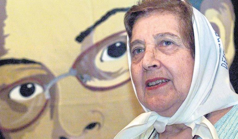 Falleció Marta Vásquez, presidenta de Madres de Plaza de Mayo