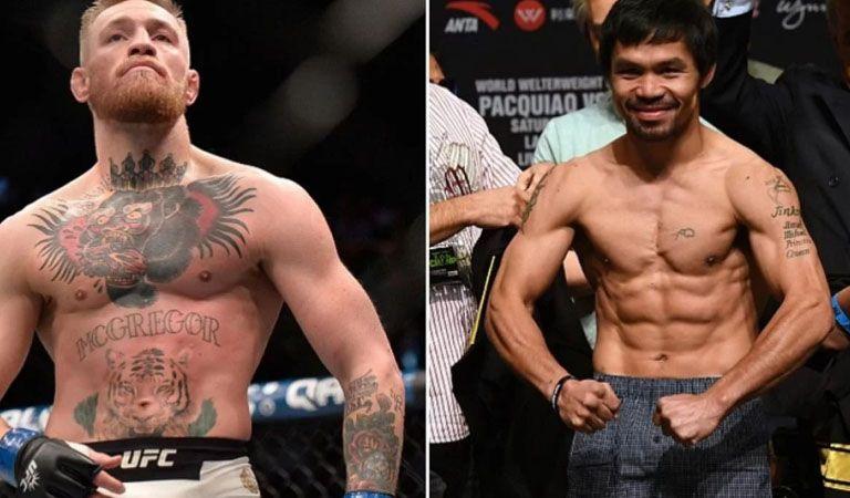 Manny Pacquiao quiere tajada, envía reto a Conor McGregor