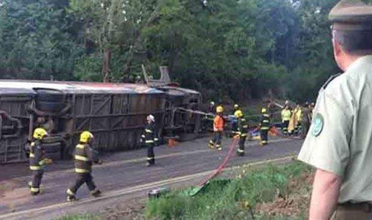 10 víctimas fatales y 17 heridos deja accidente de bus en Curacautín
