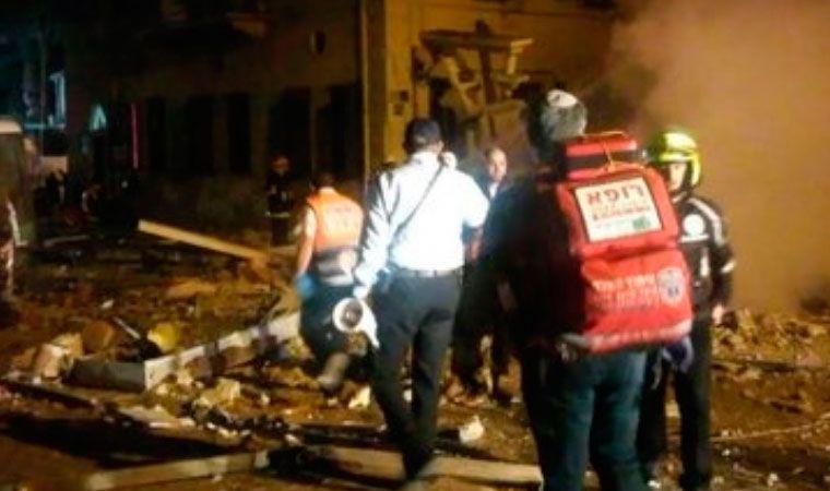 Reportan explosión en edificio de Tel Aviv, Israel