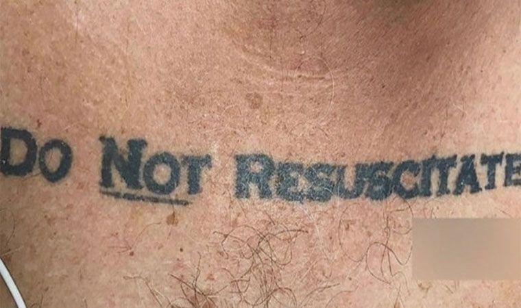 Tatuaje pone en entredicho a médicos en EU