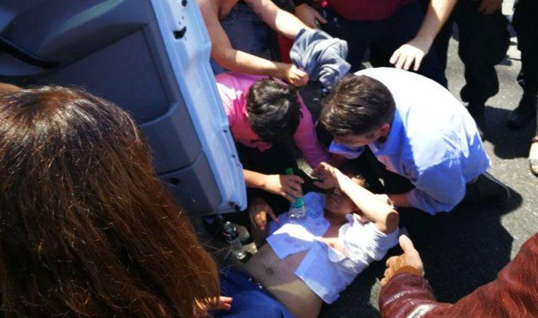 Manifestantes y efectivos de Gendarmería se enfrentaron frente al Congreso