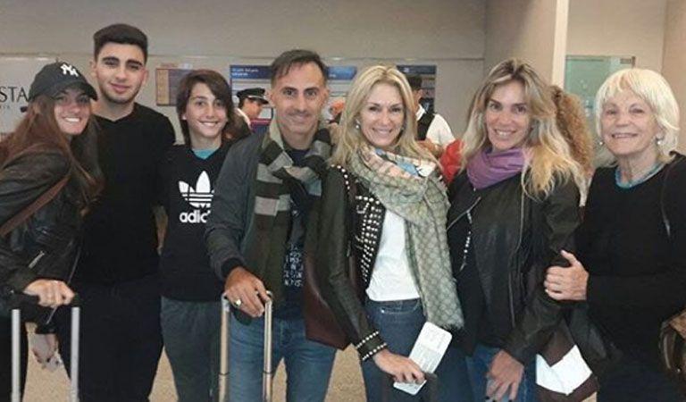 Le robaron las valijas a Yanina Latorre en el aeropuerto