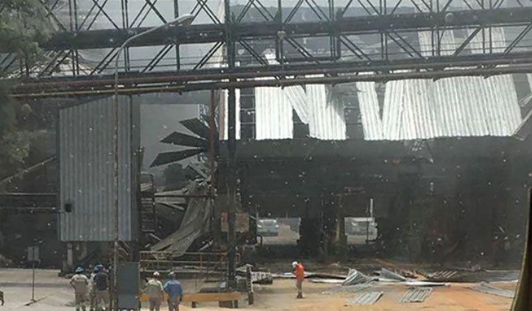 Explotó una planta cerealera de Rosario y hay varios heridos
