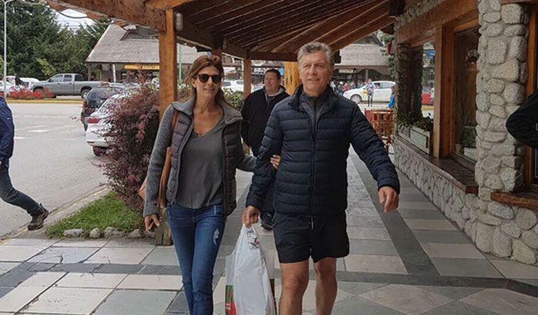 Una reunión sobre cuestiones porteñas, en Villa La Angostura — Macri y Larreta