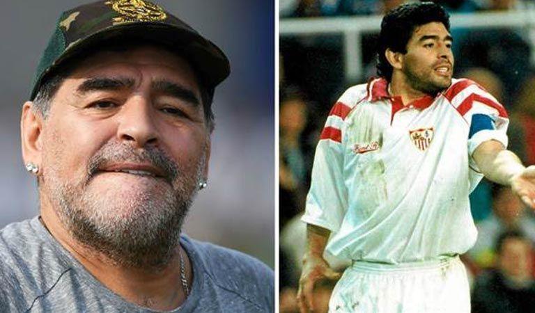 Diego Maradona critica al Sevilla por la destitución de Eduardo Berizzo