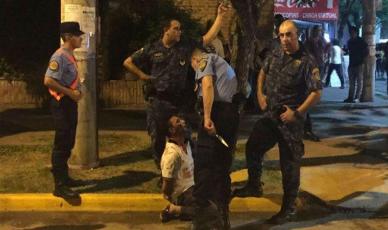 Un hombre atacó a un policía con un cuchillo en Jesús María