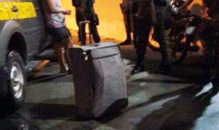 Una mujer llevaba el cadáver de su esposo dentro de una valija — Horror en Brasil