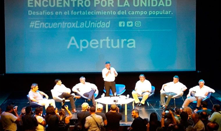 El peronismo busca la unidad partidaria de cara al 2019