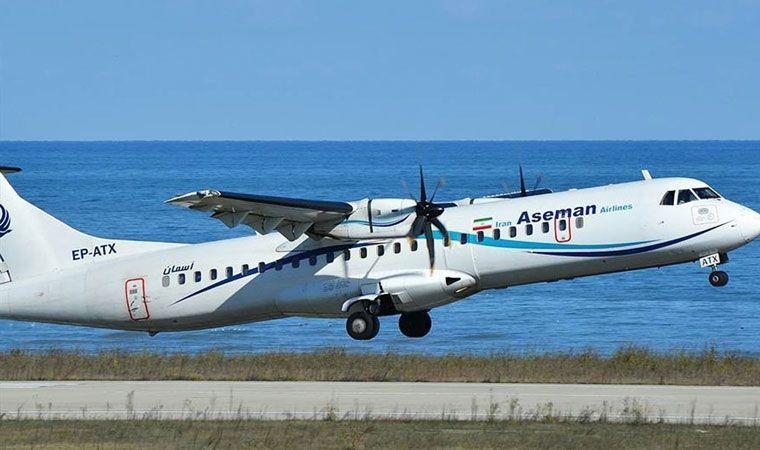 Cae avión comercial iraní con 66 pasajeros a bordo