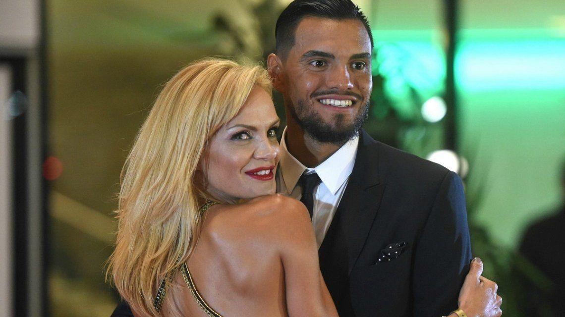 Eliana Guercio y Chiquito Romero fueron padres por tercera vez