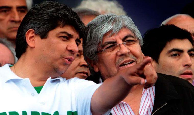 Hugo y Pablo Moyano imputados por supuesto lavado de dinero