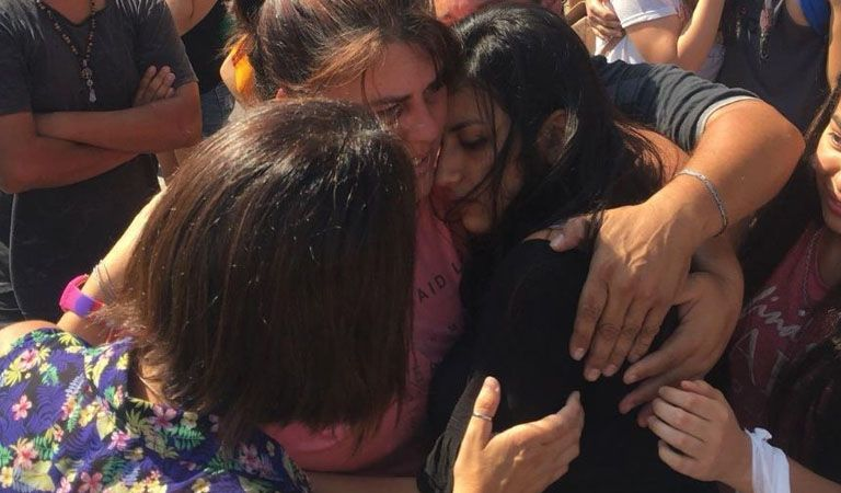 Tras 4 días de angustia, apareció Camila