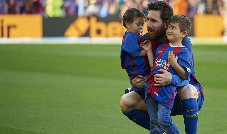 Nació Ciro, el tercer hijo de Messi y Antonella Roccuzzo